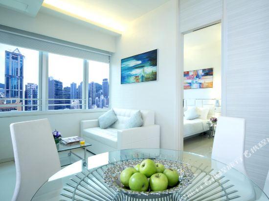 香港富薈灣仔酒店(iclub Wan Chai Hotel)富薈雙房間套房