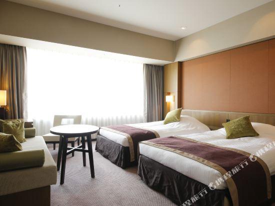 京阪環球塔酒店(Hotel Keihan Universal Tower)①-1デラックスツイン(R)