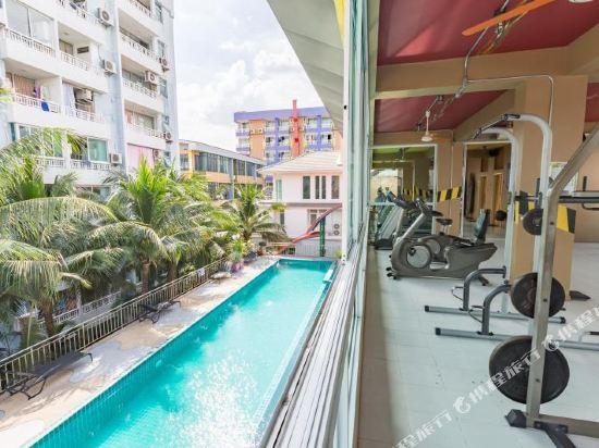曼谷自我風格酒店(MeStyle Place Bangkok)健身房