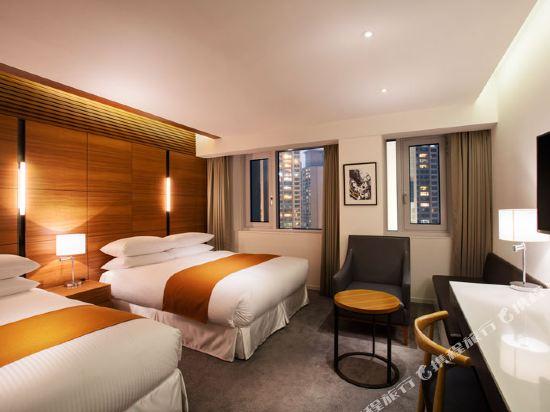 首爾喜來登帕拉斯江南酒店(Sheraton Seoul Palace Gangnam Hotel)行政商務房(大床+單人床)