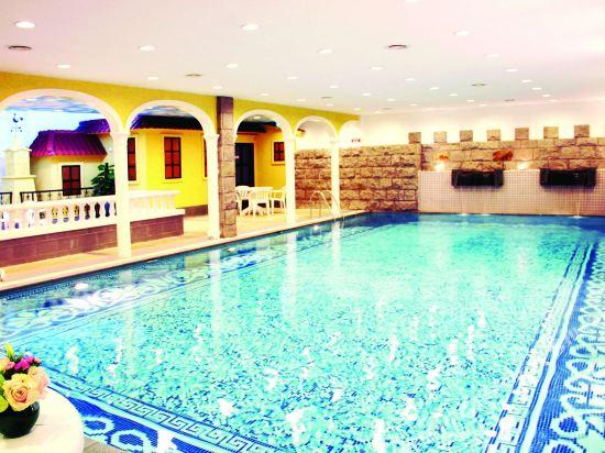 澳門皇家金堡酒店(Casa Real Hotel)室內游泳池