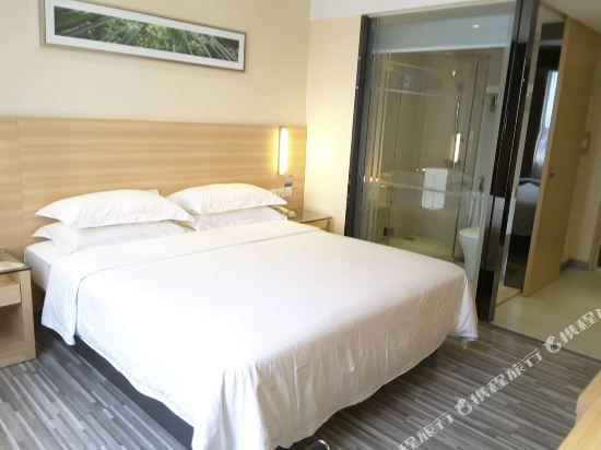 城市便捷吉隆坡武吉免登店(City Comfort Hotel Bukit Bintang)高級特大床房