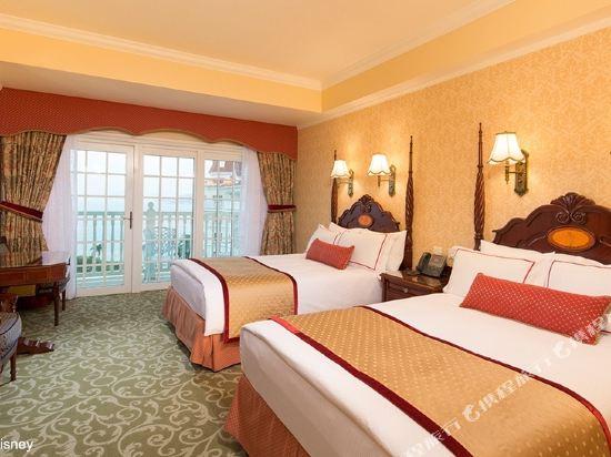 香港迪士尼樂園酒店(Hong Kong Disneyland Hotel)國賓廳客房