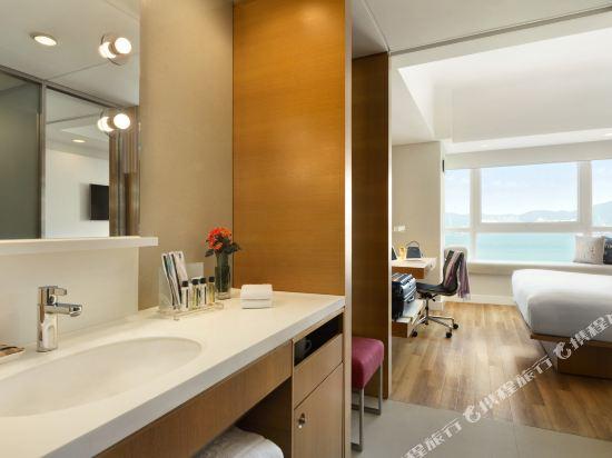 香港今旅酒店(Hotel Jen Hong Kong)豪華海景客房