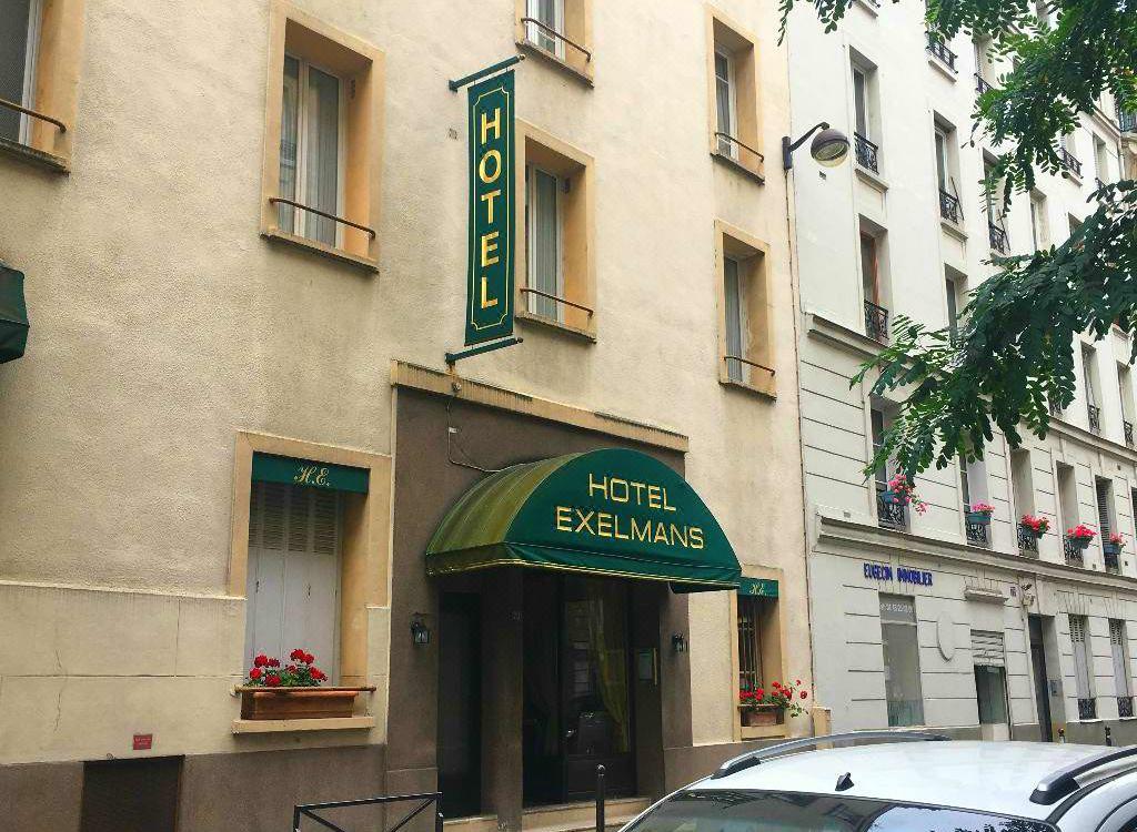 Resultado de imagen para exelmans hotel paris