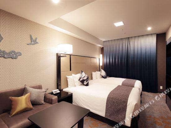 京都四條皇家花園酒店(2018年4月新開業)(The Royal Park Hotel Kyoto Shijo(New Open))豪華雙床房