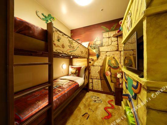 日本樂高樂園酒店(Legoland Japan Hotel)探險主題房