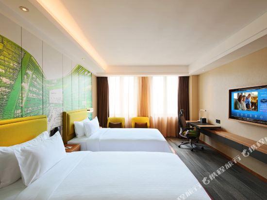 上海虹橋國家會展中心希爾頓歡朋酒店(Hampton by Hilton Shanghai Hongqiao Necc)豪華雙床房
