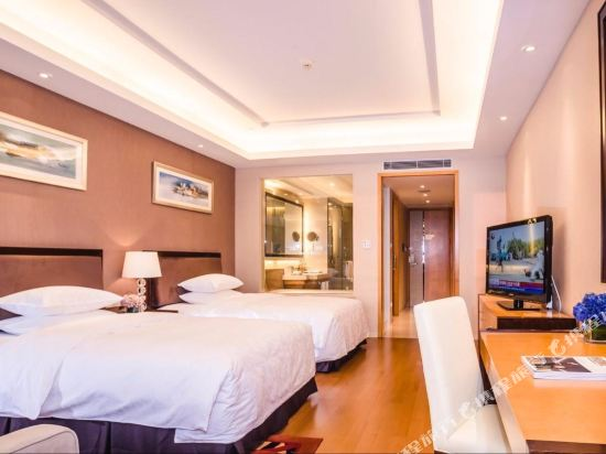 千島湖綠城度假酒店(1000 Island Lake Greentown Resort Hotel)園景標準雙床房