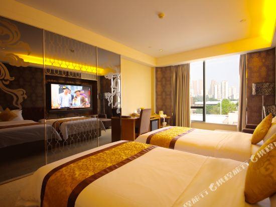 廣州馬會酒店(Jockey Club Hotel)豪華雙床房