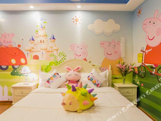 夢幻樂園親子主題公寓(廣州萬達廣場店)(Dreamland Family Theme Apartment (Guangzhou Wanda Plaza))小豬佩奇度假大床房
