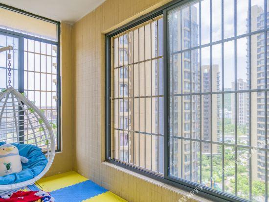 Q加·泰萊童趣主題公寓(珠海橫琴海洋王國店)(Q+ Tailai Tongqu Theme Apartment (Zhuhai Chimelong Ocean Kingdom))海洋主題三房二廳套房