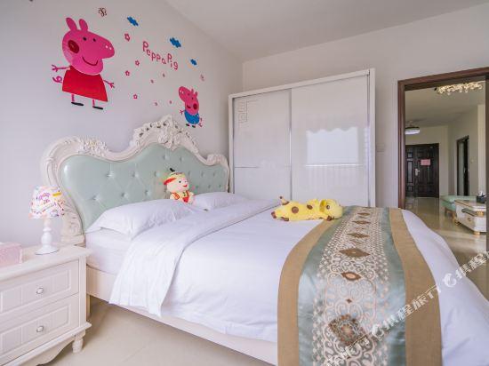 Q加·泰萊童趣主題公寓(珠海橫琴海洋王國店)(Q+ Tailai Tongqu Theme Apartment (Zhuhai Chimelong Ocean Kingdom))童趣主題二房一廳套房