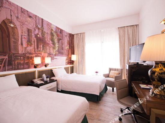 香港銀礦灣渡假酒店(Silvermine Beach Resort)標準雙床房