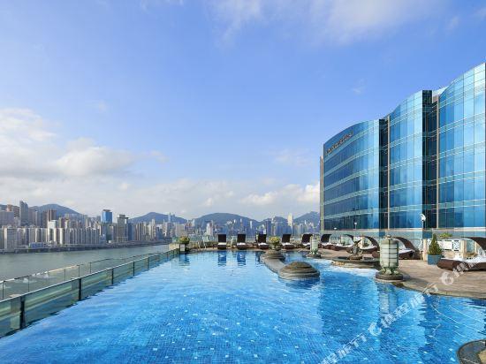 香港九龍海逸君綽酒店(Harbour Grand Kowloon)室外游泳池
