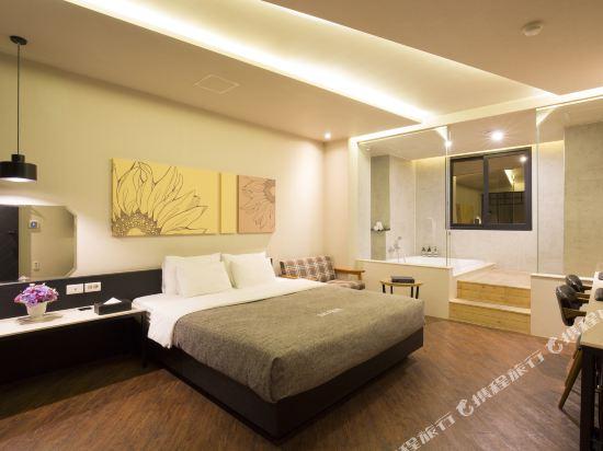 西面館天堂2號酒店(2 Heaven Hotel Seomyeon)豪華大床房