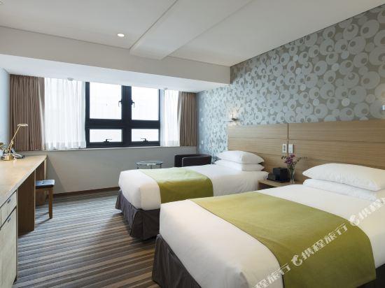 九棵樹酒店(Nine Tree Hotel Myeongdong)豪華雙床房