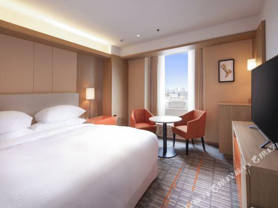 大阪都喜來登酒店(Sheraton Miyako Hotel Osaka)尊貴樓層標準大床房