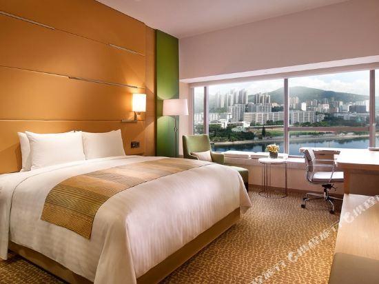 香港沙田萬怡酒店(Courtyard by Marriott Hong Kong Sha Tin)行政大床客房