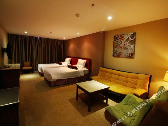 珠海L Hotel蓮花店豪華雙床房