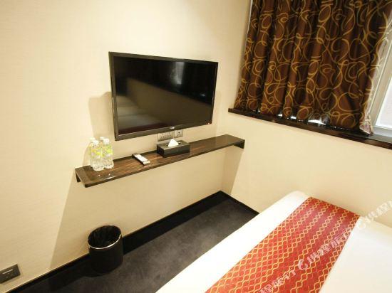 香港逸林酒店(Noblepark Hotel Hong Kong)豪華雙大床房
