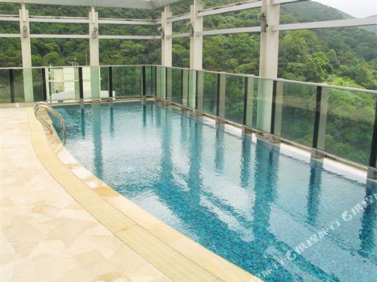 香港如心銅鑼灣海景酒店(L'hotel Causeway Bay Harbour View Hong Kong)室外游泳池