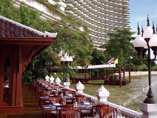 曼谷香格里拉酒店(Shangri-La Hotel Bangkok)眺望遠景