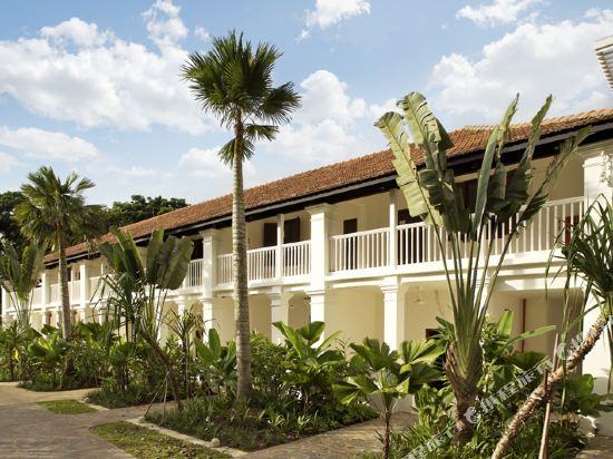 新加坡聖淘沙安曼納聖殿度假酒店(Amara Sanctuary Resort Sentosa)客廳遊廊套房