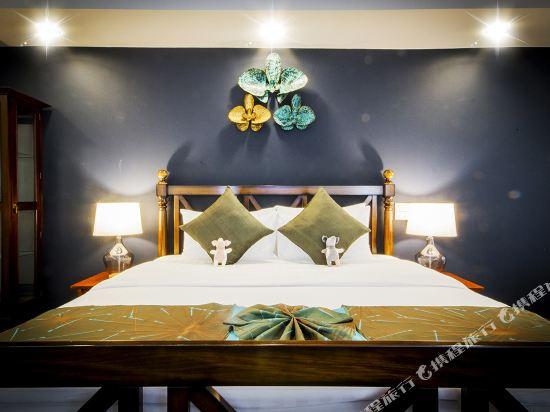 芭堤雅首驛精品酒店(E-Outfitting Boutique Hotel Pattaya)園景精緻套房