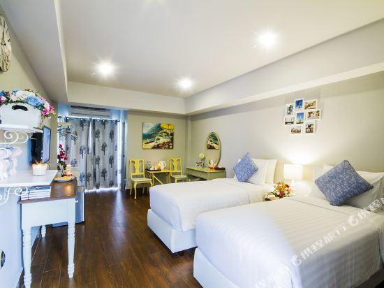 芭堤雅首驛精品酒店(E-Outfitting Boutique Hotel Pattaya)高級雙床房