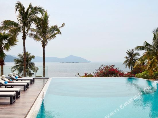 三亞山海天大酒店·傲途格精選(The Shanhaitian Resort Sanya, Autograph Collection)室外游泳池