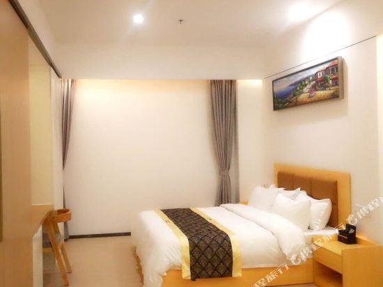 深圳途家斯維登度假公寓(東部華庭大梅沙)高級大床房(無窗)