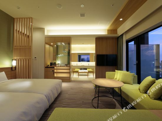 大阪難波光芒酒店(Candeo Hotels Osaka Namba)奢華套房