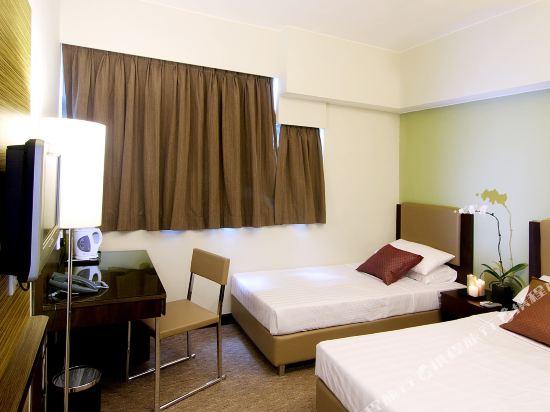 香港C酒店(Casa Hotel)豪華雙床房
