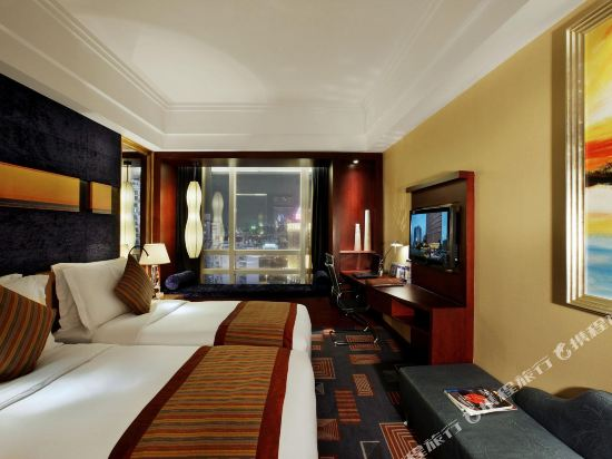 珠海來魅力假日酒店(Charming Holiday Hotel)豪華城景雙床房