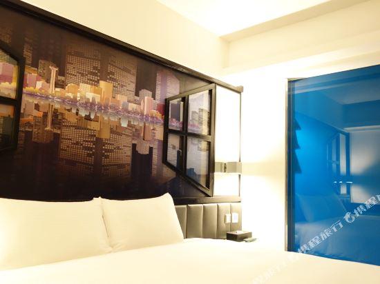 高雄雲端精緻旅館(The Cloud Hotel)大床房