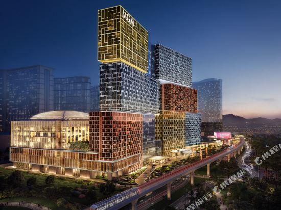 澳門美獅美高梅酒店(MGM Cotai Macau)外觀