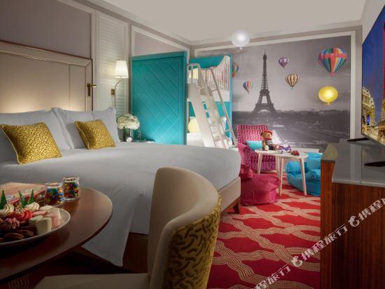 澳門巴黎人酒店(The Parisian Macao)天倫大床客房