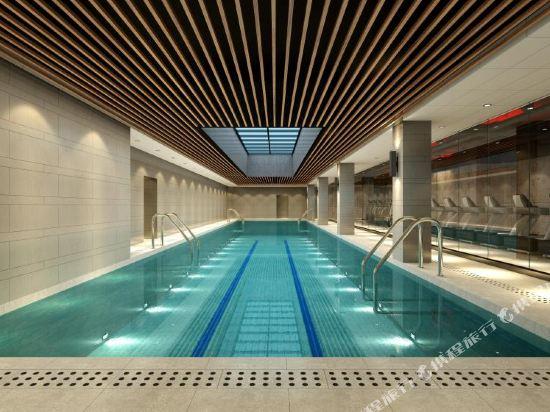 上海Pagoda君亭設計酒店(Pagoda Junting Design Hotel)室內游泳池