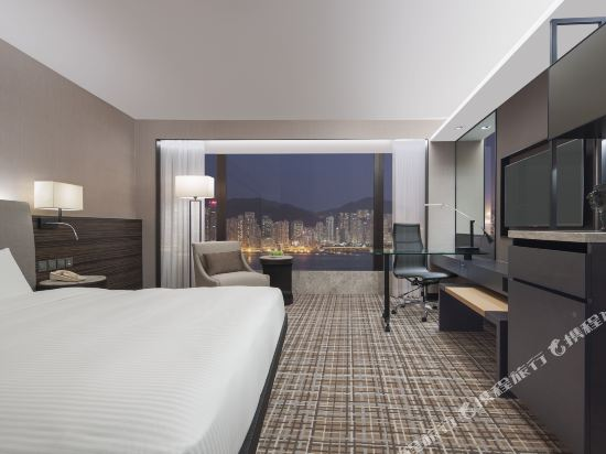 千禧新世界香港酒店(New World Millennium Hong Kong Hotel)豪華海景房