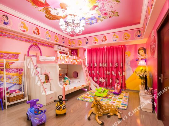 夢幻樂園親子主題公寓(廣州萬達廣場店)(Dreamland Family Theme Apartment (Guangzhou Wanda Plaza))親子主題歡聚兩房一廳套房