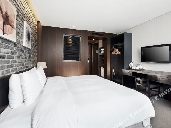 總統酒店(Hotel President)好萊塢雙床房