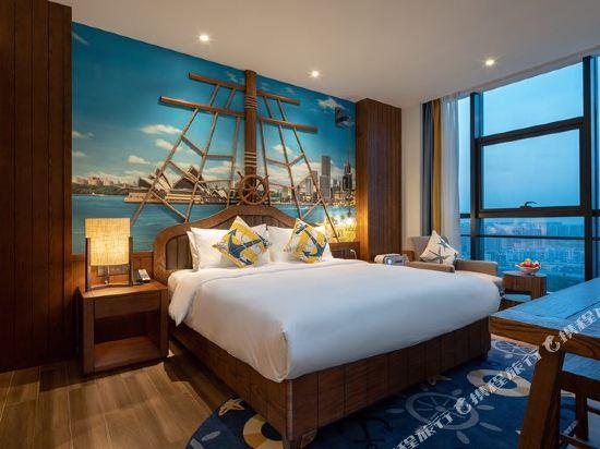 常州環球港郵輪酒店(Global Harbor Cruise Hotel)海港大床房