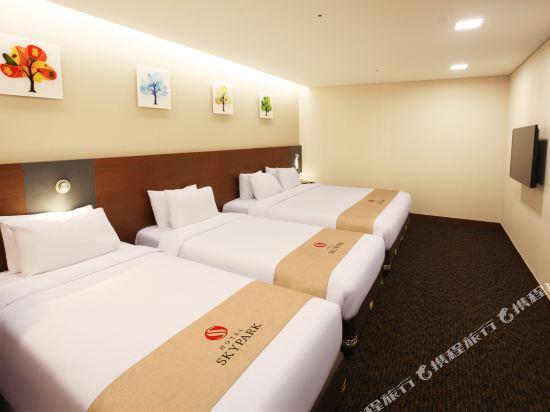 空中花園東大門金斯敦酒店(Hotel Skypark Kingstown Dongdaemun)家庭房