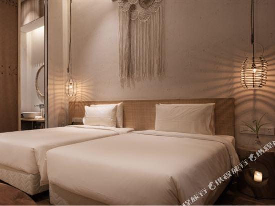 上海浦東機場江鎮亞朵S酒店(Atour S Hotel Shanghai Pudong Airport)幾木雙床房