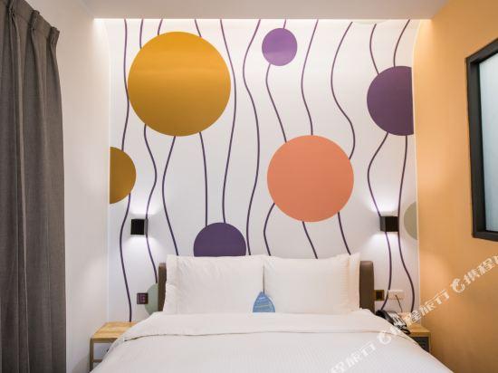 台中隱和旅(INNK Hotel)標準雙人房