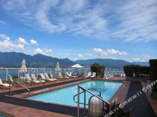 温哥華泛太平洋酒店(Pan Pacific Vancouver)室外游泳池