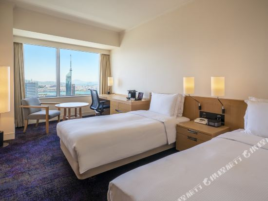 福岡海鷹希爾頓酒店(Hilton Fukuoka Sea Hawk)行政雙床房