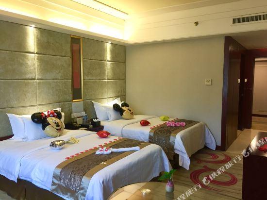 百盛達酒店(佛山千燈湖公園店)(Pasonda Hotel (Foshan Qiandeng Lake Park))歡樂親子雙床房