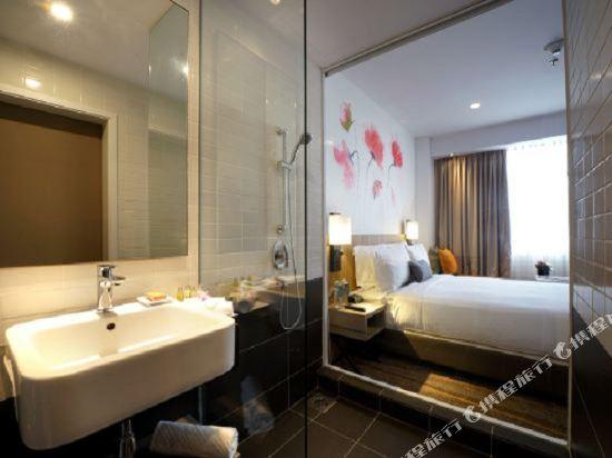 吉隆坡東姑阿都拉曼南希爾頓花園酒店(Hilton Garden Inn Kuala Lumpur Jalan Tuanku Abdul Rahman South)吉隆坡雙峯塔景標準房